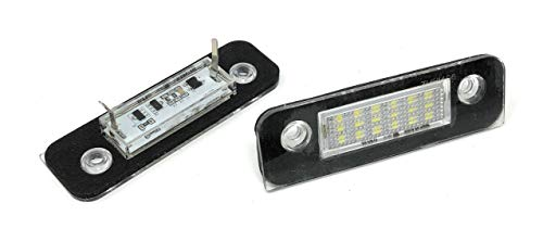 phil trade Kennzeichenbeleuchtung LED SMD kompatibel für Fiesta 5 - Baujahr 11/2001-08/2008 (7902)
