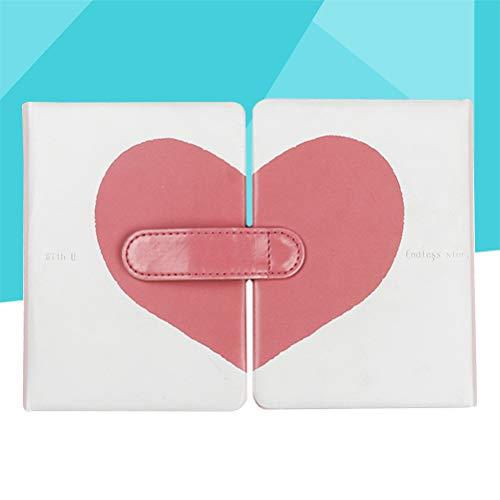 Toyandona - Taccuino romantico, con copertina rigida, motivo a pois, per coppie, 2 pezzi