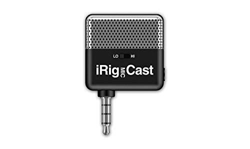 IK Multimedia iRig MIC Cast コンパクト・パーソナルマイク【国内正規品】