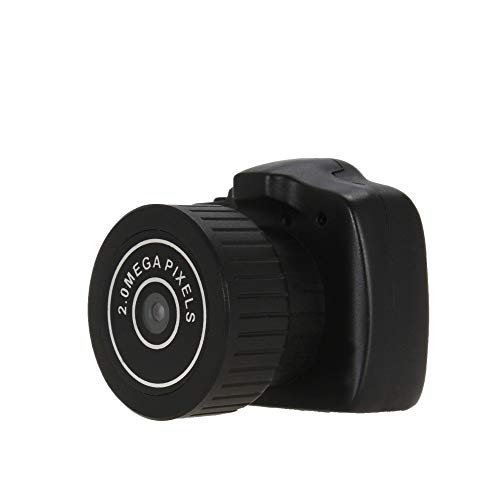 Qxinjinxsxt 200W Micro cámara portátil de Alta definición de 2.0 Mega píxeles de vídeo de Bolsillo de Audio Digital Mini videocámara 640 * 480 480P Webcam para pc