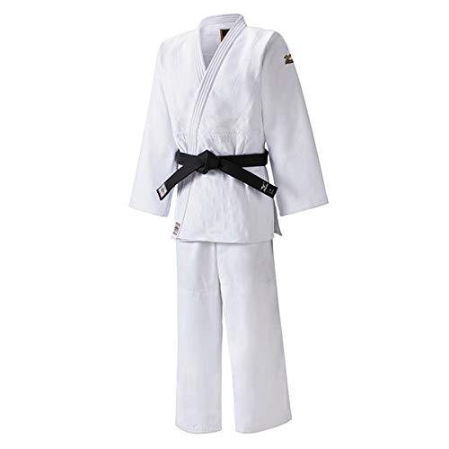 Mizuno Yusho - Kimono de judo, color blanco, homologado por la Federación Internacional de Judo (IJF) Bianco / White