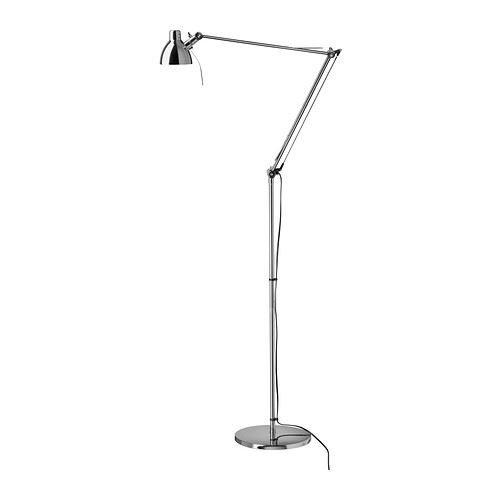 eLisa8 ANTIFONI - lampa podłogowa/do czytania, niklowana