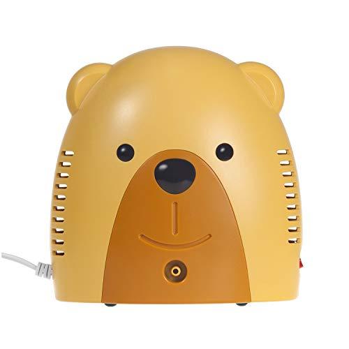 Maclean PR-811 Inhalator Inhaliergerät Set für Kinder und Erwachsene Vernebler Inhalation (Bär)