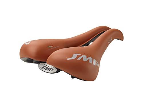 Selle SMP TRK - Sillín para hombre (talla grande, 272 mm de ancho), color marrón mate