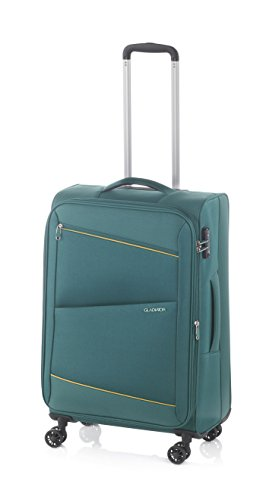 Gladiator Bel-air Suitcase, 68 cm, 63 Liters, Turquoise