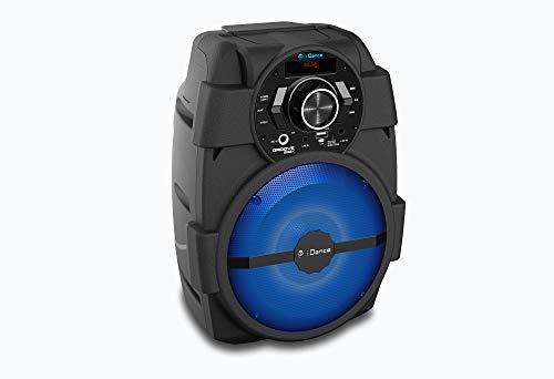 iDance GROOVE200X Altavoz Portátil Bluetooth 100 W Negro - Altavoces Portátiles (Inalámbrico y Alámbrico, Negro, Multi, Universal, Corriente Alterna, Batería)