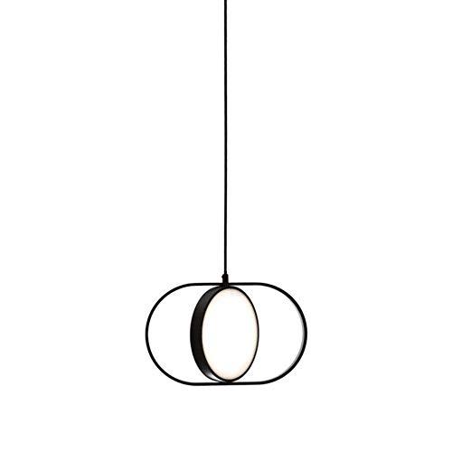 NARUJUBU Isla redonda Araña-contemporáneo araña de cristal de montaje empotrado pendiente de la luz del accesorio de iluminación for el comedor, pequeño;31 * 19cm;grande;43 * 27CM (Size : 31 * 19CM)