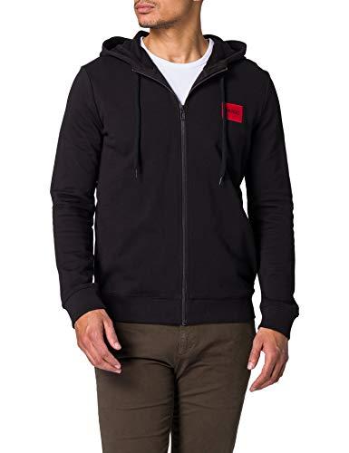 HUGO Herren Daple212 Pullover, Black1, L