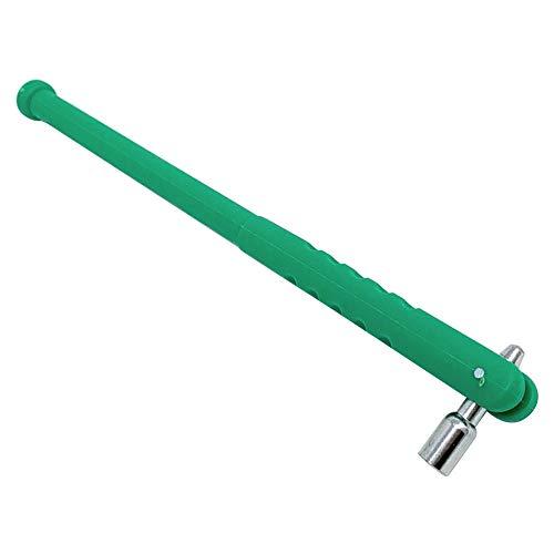 DIYARTS 3 Unids Válvula de Neumático Vástago Extractor Tubo Kit de Reparación de Neumáticos de Coche Válvula de Núcleo Llave Walve Loader Herramientas de Reparación de Neumáticos de Metal (Green)