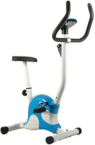 Equipo Gimnasio en casa Mini bicicleta estática plegable, Pantalla LED para interiores Bicicleta de ejercicios y entrenador de abdominales, Equipo deportivo, Entrenador de cardio ideal 275LB Peso máxi