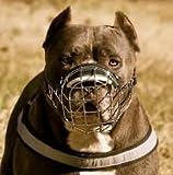 Nuovo cane Museruola a cestino in fil di ferro per Amstaff & Pitbull, Bulterier