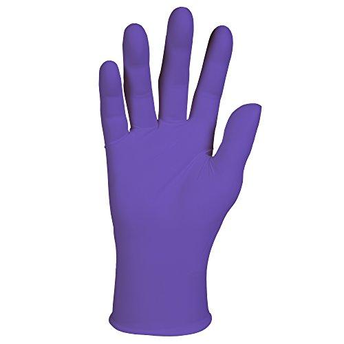 "Haylard Health Purple Nitrile Exam Gloves (55081), 5.9 Mil, Ambidextrous, 9.5"", Small, 100 Nitrile Gloves / Box, 10 Boxes / Case, 1,000 / Case"