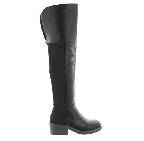JUMEX Damen Luxus Stiefel Boots Warm Winter (36)