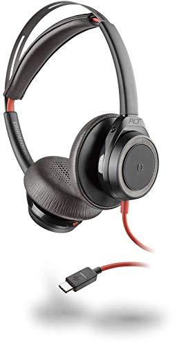 Plantronics Headset Blackwire C7225 binaural/Stereo USB-C ANC, Schwarz
