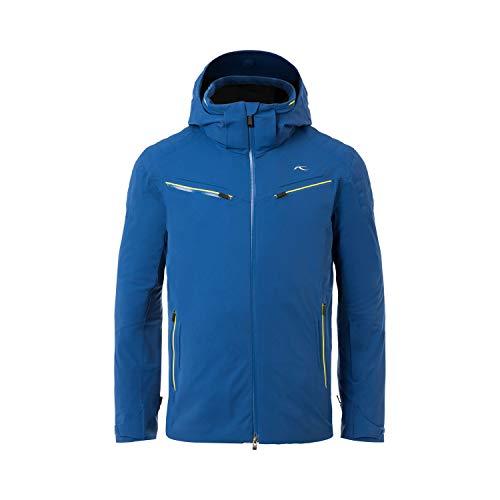 KJUS Men Formula Jacket Blau, Herren Regenjacke, Größe 52 - Farbe Southern Blue