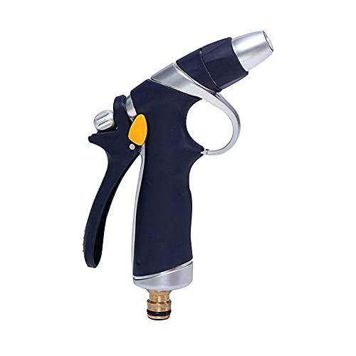 DealMux Gardena cabezal de ducha diseño antideslizante pistola pulverizadora de manguera para jardín fácil ajuste de control de flujo pistola de agua de alta presión