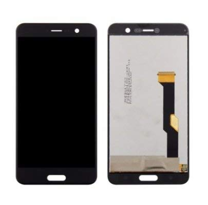 YUVKUZ Display for HTC U Play (HTC Alpine) with Touch Screen Combo Folder LCD Full Assembly Digitizer Glass Replacement, U-2u - Black