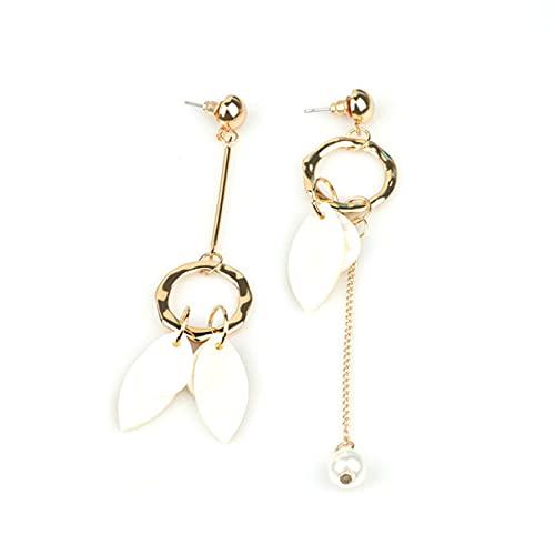 HehiFRlark Pendientes de Estrella popurlar Pentagrama asimétrico Reloj Despertador Pendiente de la Oreja joyería de Regalo Pendiente de Oreja