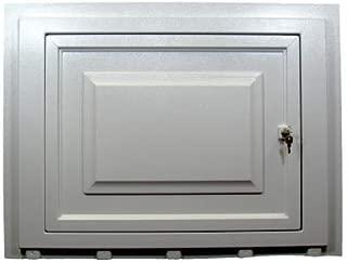 White Vinyl Skirting Access Door for Mobile Home Underpinning
