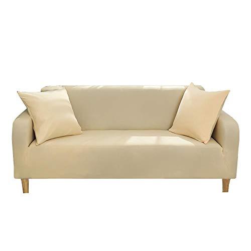 lossomly Funda de sofá elástica suave con espuma antideslizante y base elástica, portátil para niños