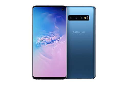 Samsung Galaxy S10 Smartphone Bundle (15.5cm (6.1 Zoll) 128 GB interner Speicher, 8 GB RAM, Dual SIM, Android, prism blue) inkl. 36 Monate Herstellergarantie [Exklusiv bei Amazon] | Deutsche Version