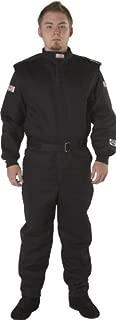 G-Force 4525LRGBK GF 525 Black Large Multi-Layer Racing Suit