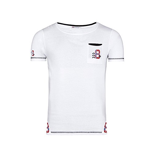 Nebulus T-shirt Holm - Blanc - Medium