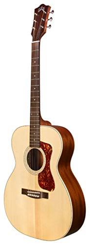 Guild Guitars OM-240E Acoustic Guitar, Natural, Archback Solid Top, Westerly...