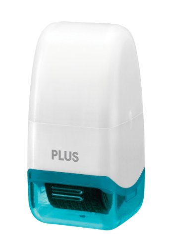 Guard Your ID 38425 Plus Mini Roller Stamp, White