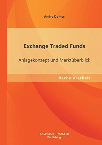 Exchange Traded Funds: Anlagekonzept und Marktüberblick