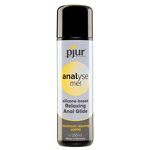 pjur analyse me! Relaxing Silicone Anal Glide - Lubricante silicona para sexo anal cómodo -...