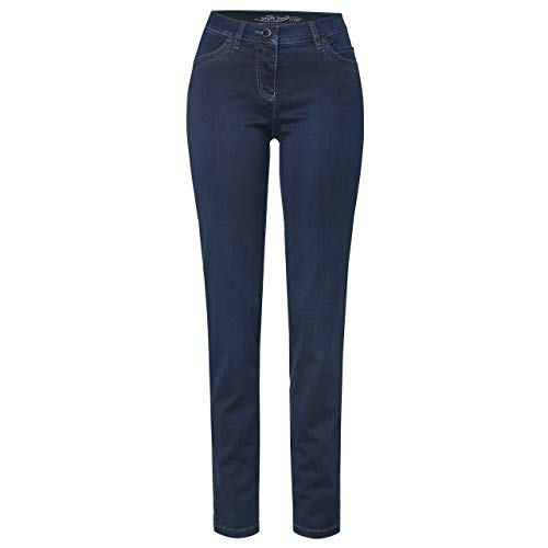 Toni Dress Damen Jeans Perfect Shape Pipe Dark Blue Used dunkelblau - 24