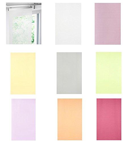 IKEA Schiebegardine LUDDHAVRE transparent in 8 Farben (rot)