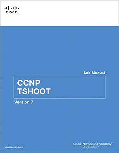CCNP TSHOOT Lab Manual (Lab Companion)