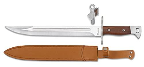 Lo Trinco Cuchillo ALBAINOX 32503 Hoja 27,5 cm. Herramienta para Caza, Pesca, Camping, Outdoor, Supervivencia y Bushcraft