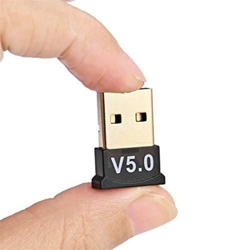 Adaptateur Bluetooth, Mini Adaptateur USB sans Fil Bluetooth 5.0, Émetteur Récepteur de Musique Dongle Adaptateur Audio pour Ordinateur Tablette PC Portable