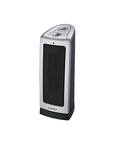 Lasko Products #5307 Oscillating Ceramic Electric Tower Heater