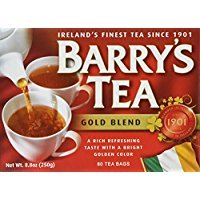 Barry's Gold Blend Irish Tea, 80-Count Tea Bags (Pack of 3) Thank you to all the patrons We hope that he has gained the trust from you again the next time the service