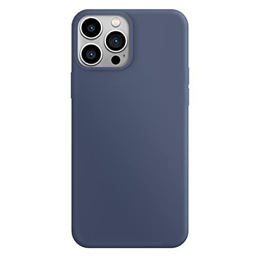 ZhinkArts Silikon Handyhülle kompatibel mit Apple iPhone 13 Pro Max - 6,7
