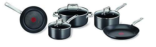 Tefal C556S554 Prograde Induction 5 Piece Cookware Set (18/20 SAUCEPANS...