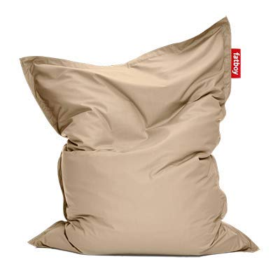 Fatboy® Original Outdoor Sand Acryl-Gewebe Sitzsack | Klassischer Beanbag für draußen, Sitzkissen | 180 x 140 cm