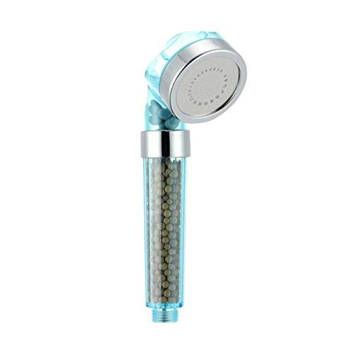 Ducha de mano Terapia de agua Spa cabezal de ducha, de ahorro de agua desmontable de aniones filtro suavizador de agua de ducha