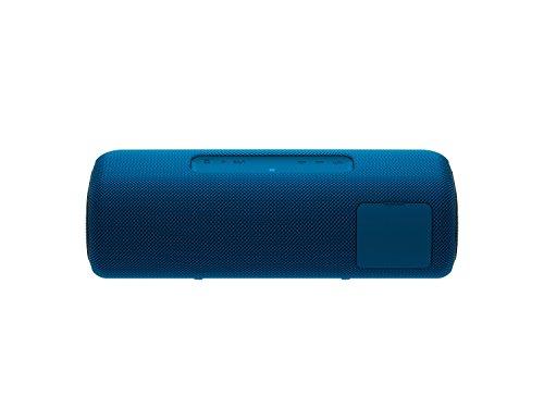 SRS-XB41 Speaker Wireless Portatile con Extra Bass, Impermeabile e Resistente alla Polvere IP67, Effetti Luminosi, Batteria fino a 24 Ore, Bluetooth, NFC, Blu