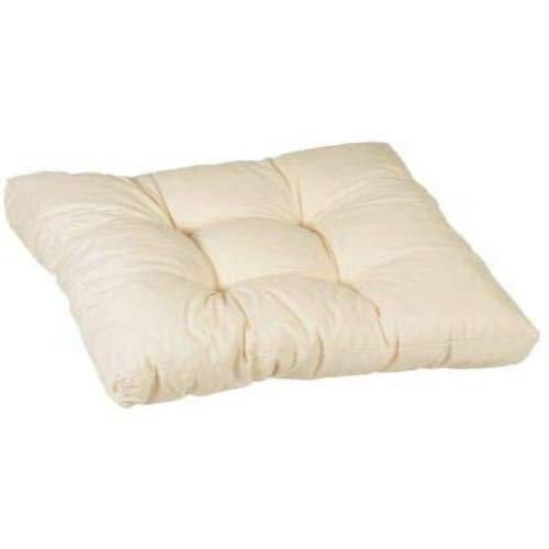 Beo 069922 - Cojín de salón para Sentarse, Elegante y fácil de Limpiar, cómodo, 60 x 60 cm, 13 cm de Grosor
