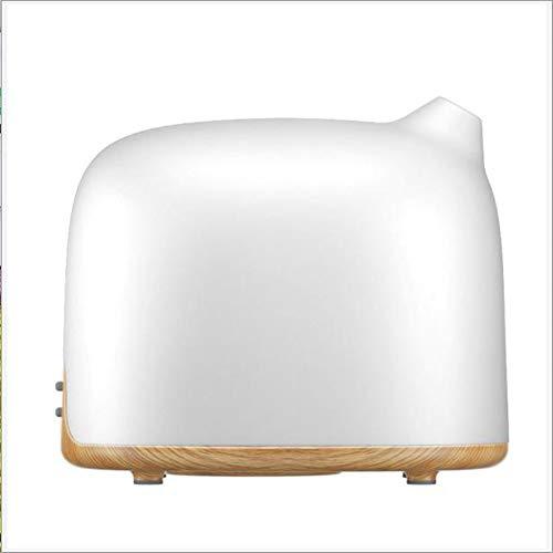 Etherische olie Diffuser Verzilverd Glas Aromatherapie Ultrasone luchtbevochtiger - BPA gratis