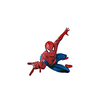 Spider-Man Wall Sticker Cartoon Wall Sticker Decorative Stickers for Children s Room and Kindergarten Art Deco Stickers for Boys  Rooms