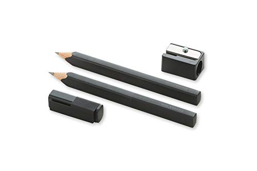Moleskine Writing Collection, Holz-Kollektion, Bleistift-Set schwarz