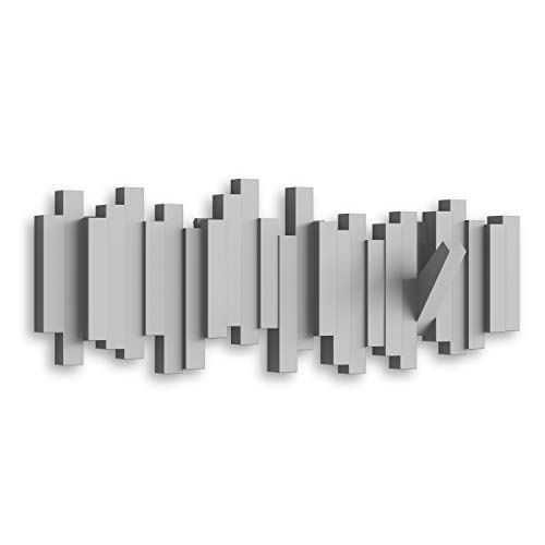 Umbra 318211-918 Ganchos de pared plegables, Color Gris