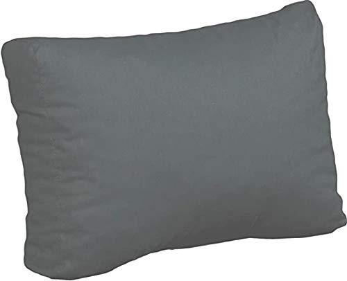 Beo AU91 - Cojín para Respaldo (60 x 40 cm, 20 cm de Grosor), Color Negro