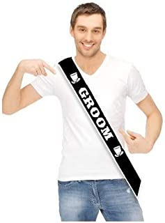 JCP Groom Sash, Bachelor Party Sash, Wedding Party Groom To Be Sash